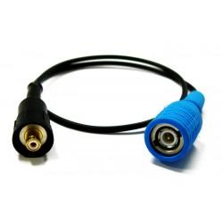 Соединительный кабель 0,5 м. RG174 D3