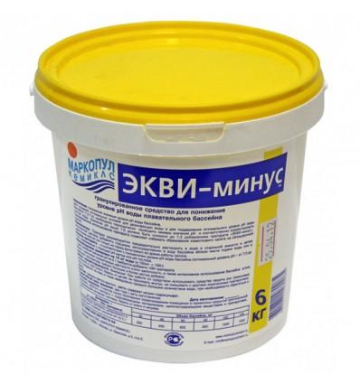 ЭКВИ-минус порошок (ведро) - 6кг.